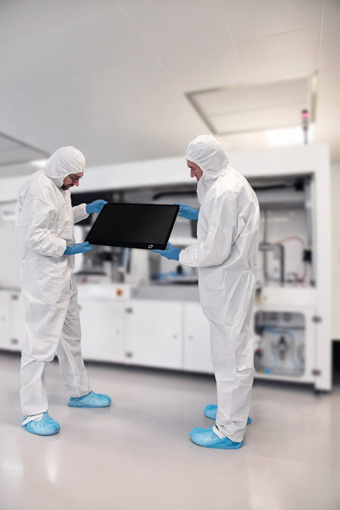 Systemelektronik - Optical Bonding