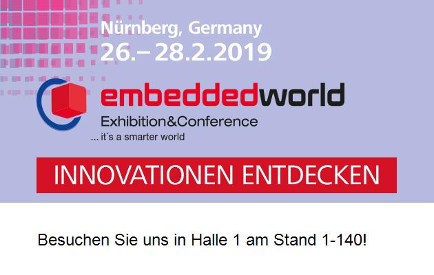 embeddedworld Nürnberg